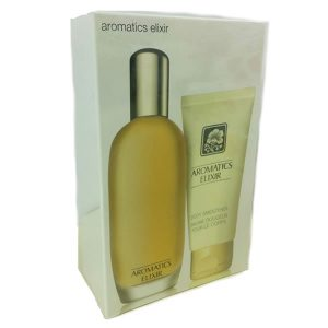 Clinique Aromatics Elixir Perfume 100ml + Lotion 75ml