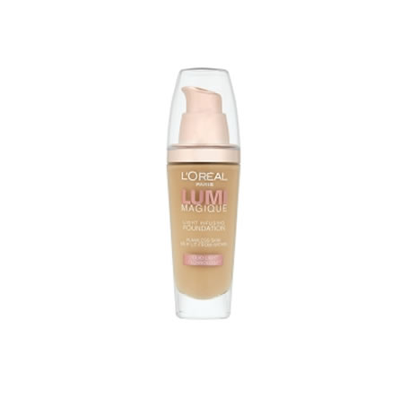 L'Oreal Lumi Magique Liquid Foundation DW3 Gold Linen 30ml