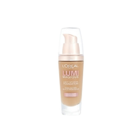 L'Oreal Lumi Magique Liquid Foundation DW5 Gold Sand 30ml