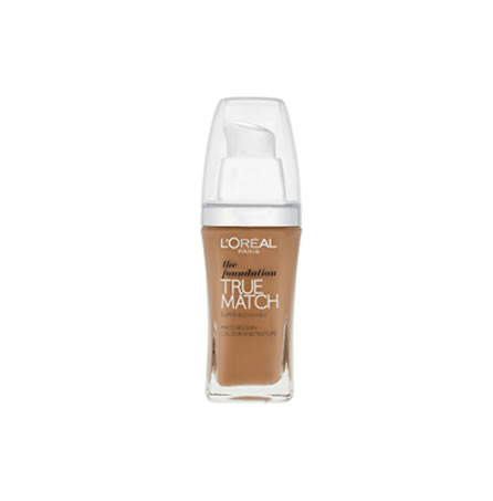 L'Oreal True Match Liquid Foundation Make Up W7 Golden Amber 30ml