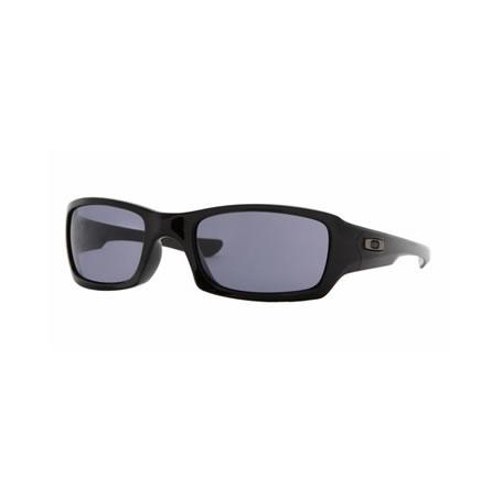 Oakley Sunglasses Fives Squared Polished Black/ Grey