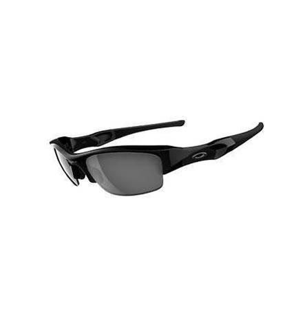 Oakley Sunglasses Flak Jacket Jet Black/ Black Iridium
