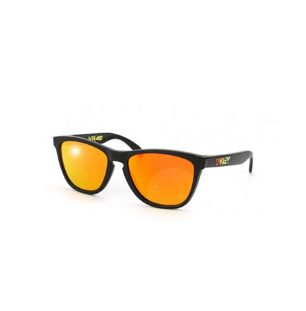 Oakley Sunglasses Frogskins VR/46 Polished Black Fire Iridium
