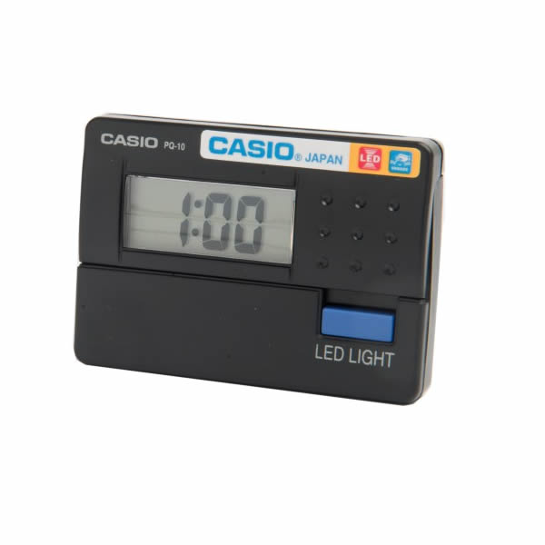 Casio Pocket Alarm Clock PQ10 [Assorted]
