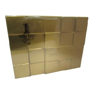 Paco Rabanne 1 Million Edt Spray 100ml + Travel Spray 10ml + Shower Gel 100ml Set