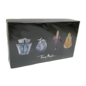 Thierry Mugler 4 Miniatures Collection Set