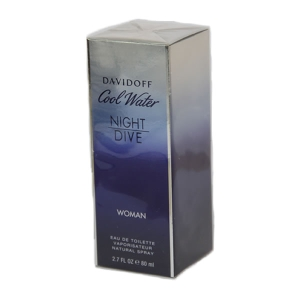 Davidoff Cool Water Woman Night Dive Edt Spray 80ml