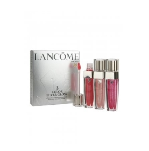 Lancome Color Fever Lip Gloss Trio, Set