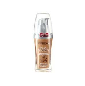 L'Oreal True Match Liquid Foundation Make Up W5 Honey Sand 30ml
