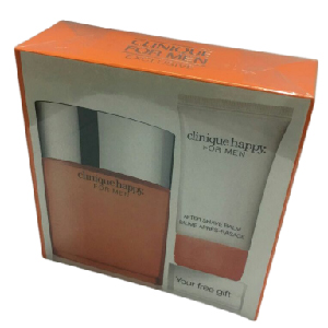 Clinique Happy For Men Edt Spray 100ml + Balm 50ml Set