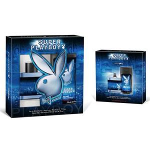 Playboy Super Playboy For Him Gift Set Edt Spray & Shower Gel