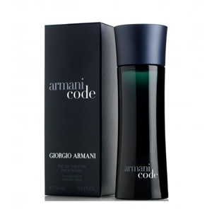 Armani Code For Men Edt Spray 75ml