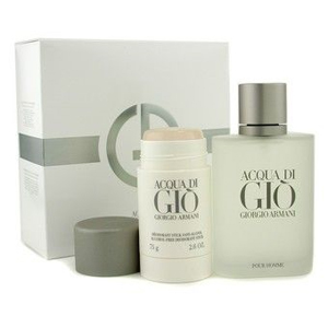 Armani Acqua Di Gio Men Edt Spray 100ml +  Deodorant Stick - Set