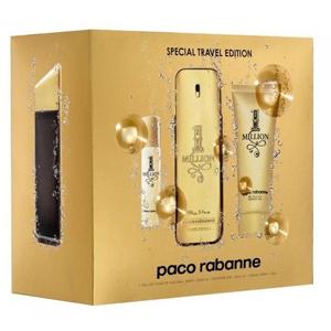 Paco Rabanne 1 Million Edt 100ml + 10ml Travel Spray + Shower Gel 75ml Set