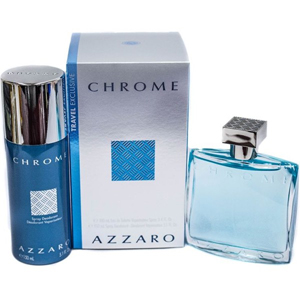 Azzaro Chrome Edt 100ml + Deodorant?Spray 150ml Set