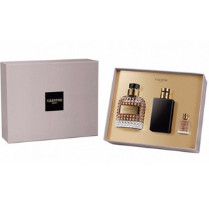 Valentino Uomo Edt 100ml + 10ml + Aftershave Balm 100ml - Set