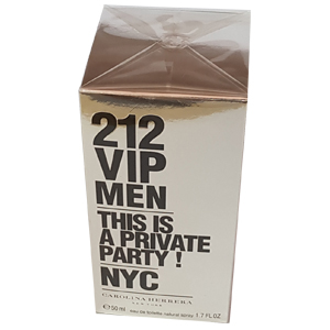 Carolina Herrera 212 VIP Men Edt 50ml