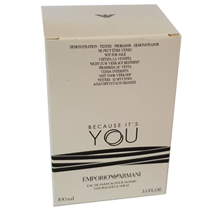 Emporio Armani Because Its You Pour Femme Edp 100ml Tester