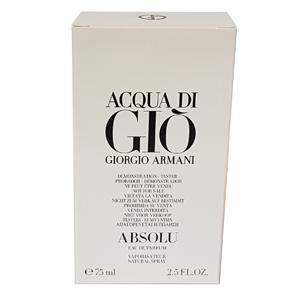 Giorgio Armani Acqua Di Gio Absolu Edp 75ml Tester