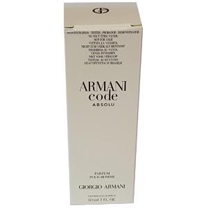 Giorgio Armani Code Absolu Pour Homme Edp 60ml Tester