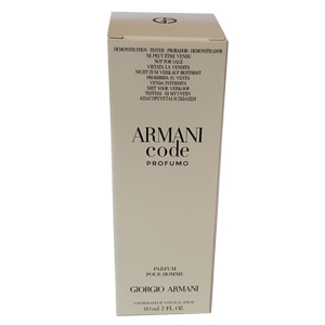 Giorgio Armani Code Profumo For Men Edp 60ml Tester