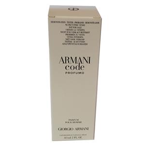 Giorgio Armani Code Profumo For Men Edp 60ml Tester