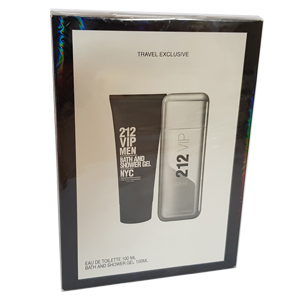 Carolina Herrera 212 VIP Men Set Edt 100ml + Shower Gel 100ml