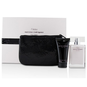Narciso Rodriguez L'Eau for Her Set Edt 50ml + Body Lotion 50ml + Pouch
