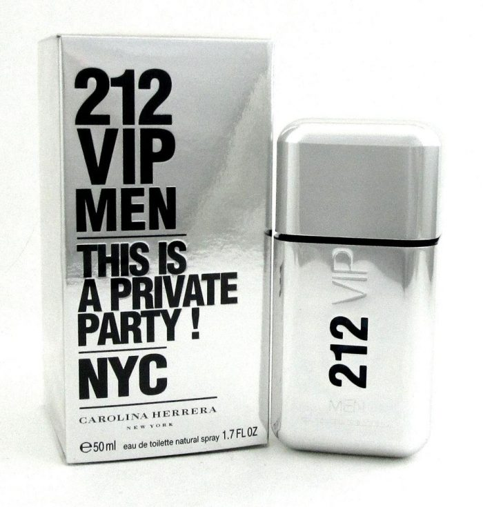 Carolina Herrera 212 VIP Men Edt 50ml - 1.7oz