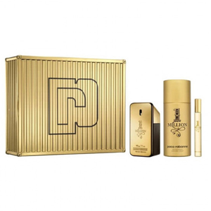 Paco Rabanne 1 Million Set Edt 50ml + 150ml Deodorant Spray + 10ml Travel Spray