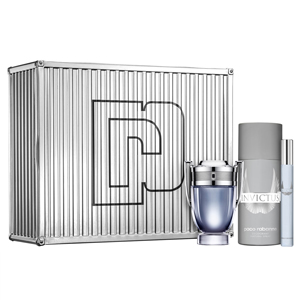 Paco Rabanne Invictus Set Edt 50ml + Deodorant Spray 150ml + Travel Spray 10ml