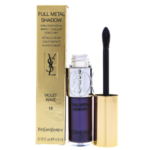 Yves Saint Laurent Full Metal Shadow 18 Violet Wave - Metallic Shine Color Impact 4.5ml