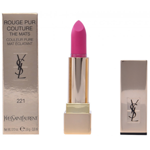 Yves Saint Laurent Rouge Pur Couture - The Mats 221 Rose Ink Lipstick Couleur Pure Mat Eclatant 3.8ml