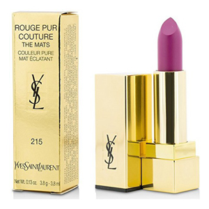 Yves Saint Laurent Rouge Pur Couture - The Mats 215 Lust for Pink Lipstick Couleur Pure Mat Eclatant 3.8ml