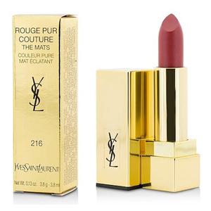 Yves Saint Laurent Rouge Pur Couture - The Mats 216 Red Clash Lipstick Couleur Pure Mat Eclatant 3.8ml
