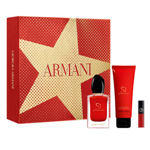 Giorgio Armani Si Passione Edp - 3 Pieces Set 2019 For Women