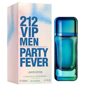 Carolina Herrera 212 Party Fever Cologne 100ml Edt Spray For Men