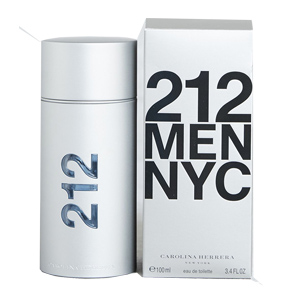 Carolina Herrera 212 Men Edt Spray 100ml For Men