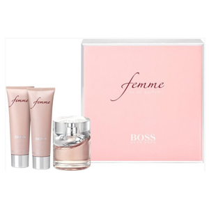 Boss Femme Edp + Body Lotion + Shower Gel 3 Pieces Of 50ml