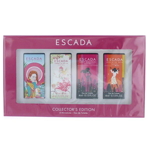 Escada by Escada 4 Piece Miniature Collector's Edition For Women - Set