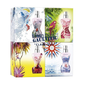 Jean Paul Gaultier Classique Miniature Summer Edition 4 Pieces - Set
