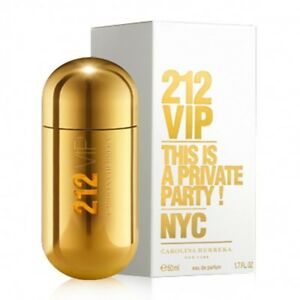 Carolina Herrera 212 Vip Women Edp Perfume Spray 50ml