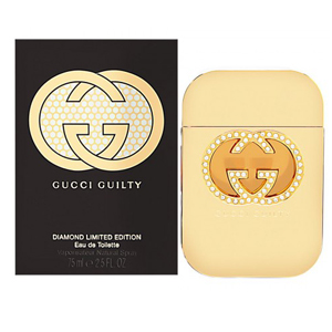 Gucci Guilty Diamond Edt Perfume Spray 75ml Limited Edition Women