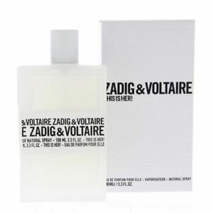 Zadig & Voltaire This Is Her Edp 100ml Perfume Spray For Women