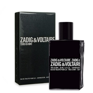 Zadig & Voltaire This Is Him Edt 100ml Fragrance  Spray For Men