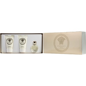 Versace Eros Pour Femme Gift Set Edp Mini 5ml + Body Lotion 23.5ml + Shower Gel 23.5ml