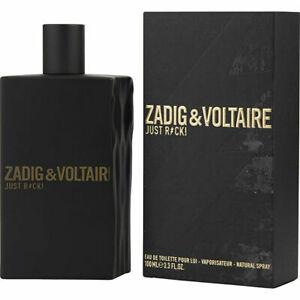Zadig & Voltaire Just Rock Edt 100ml Fragrance For Men