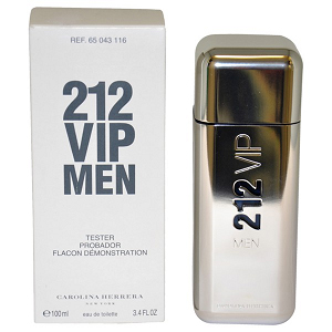 Carolina Herrera 212 VIP Men Edt 100ml Tester