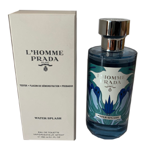 Prada  L'Homme Prada Water Splash Edt 150ml Tester