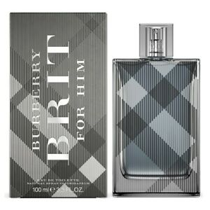 Burberry Brit Cologne Edt Spray 100ml For Men